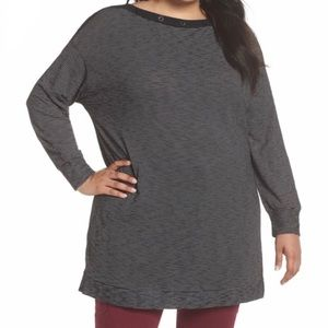 3/$25 Caslon Tunic Top Boatneck Size 3X